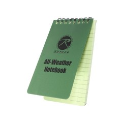 Всепогодный блокнот Rothco All Weather Waterproof Notebook 8х12 см