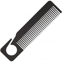 """Расческа Bastion Carbon Fiber Comb 6.25"""""""