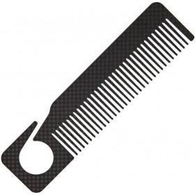 """Карбоновая расческа Bastion Carbon Fiber Comb 6.25"""""""