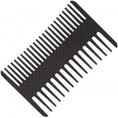 """Карбоновая расческа Bastion Carbon Fiber Comb 3.5"""" Wallet"""