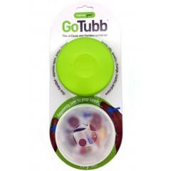 Набор контейнеров humangear GoTubb Large (прозрачный, зеленый)