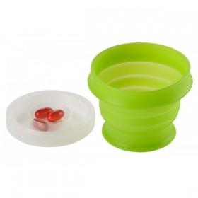 Мягкая чашка humangear GoCup Medium (зеленый)