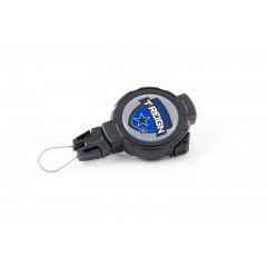 Ретрактор T-Reign, большой XD, с вращающейся клипсой на ремень, чёрный