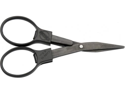 Складные ножницы Slip-N-Snip (черный с черными лезвиями)