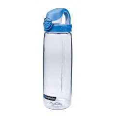 Бутылка Nalgene OTF 24oz (прозрачный-синий)