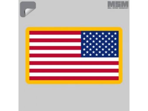 Наклейка Mil-Spec Monkey US Flag (зеркальный)
