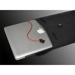 Кожаный чехол для MacBook Pro 15 Civilian Lab ProManila (желтый)