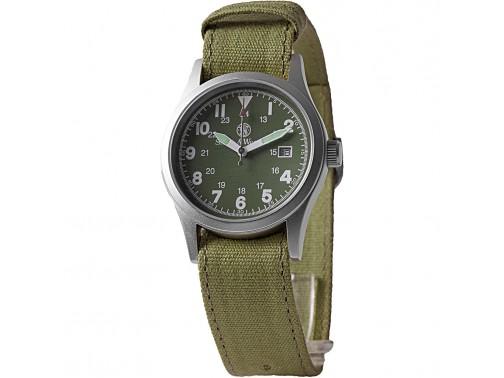 Часы Smith & Wesson Military Watch (зеленый циферблат)
