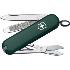 Швейцарский нож-брелок Victorinox Classic (зеленый)