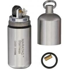 Зажигалка Maratac Peanut Lighter (нержавеющая сталь)