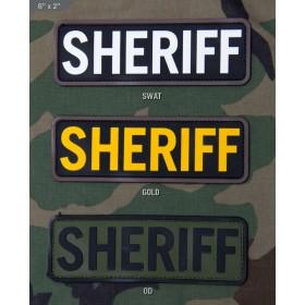 Нашивка-патч Mil-Spec Monkey SHERIFF 6x2 (ПВХ)