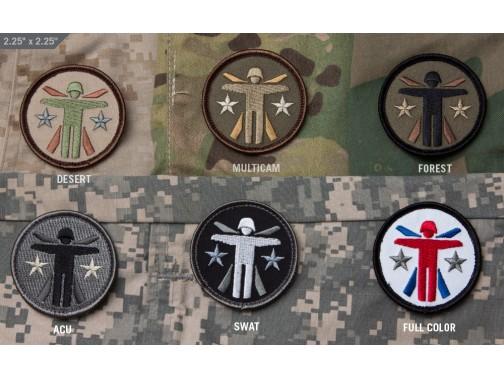 Нашивка-патч Mil-Spec Monkey Soldier Systems Logo