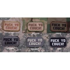 Нашивка-патч Mil-Spec Monkey F Yo Couch