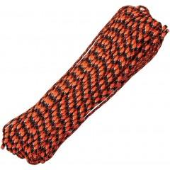 Паракорд оранжевый камуфляж