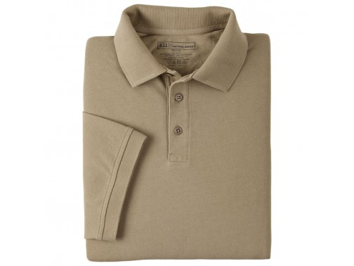 Поло 5.11 Tactical Professional Polo - Short Sleeve (XXL, 160 Silver Tan)