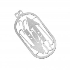 Карточка для выживания Readyman Dog Tag Survival