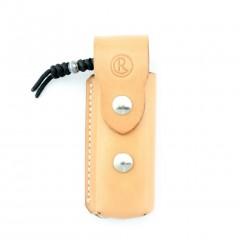 Кожаный чехол для ножей Chris Reeve Stitched Leather Pouch (светло-коричневый)