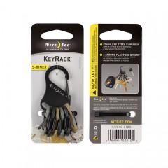 Ключная система Nite Ize S-Biner KeyRack (милитари)