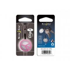Nite Ize брелок светящийся ClipLit (розовый пацифик)