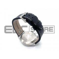 Часы с тритиевой подсветкой Smith and Wesson Mumbai, кожаный ремешок
