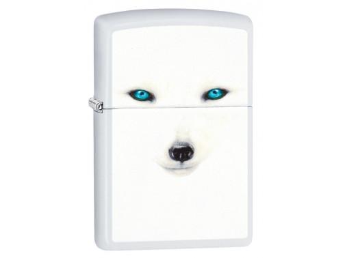 Зажигалка Zippo Gold Design White Eyes 28272