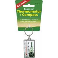 Застежка на молнию Coghlan's с компасом и термометром