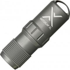 Контейнер для спичек Exotac MATCHCAP XL (серый)