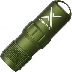 Контейнер для спичек Exotac MATCHCAP XL (зеленый)