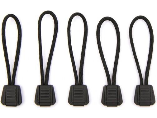 Комплект застежек на молнию Exotac Tinderzip (черный)