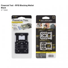Мультитул-кошелек Nite Ize Financial Tool RFID (черный)