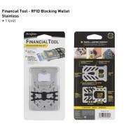 Мультитул-кошелек Nite Ize Financial Tool RFID (серебристый)