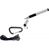 Ручка Fisher Space Pen Trekker (серебристое покрытие, черные чернила)