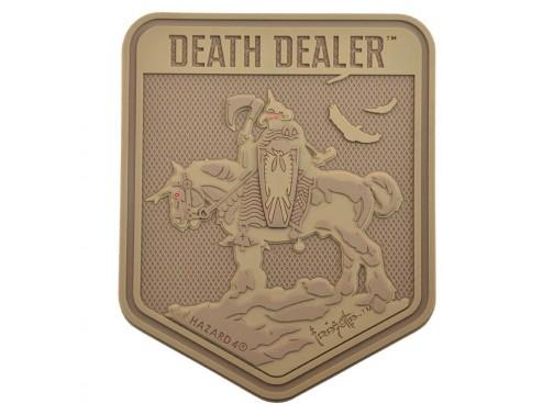 Нашивка-патч Hazard 4 Death Dealer (койот)