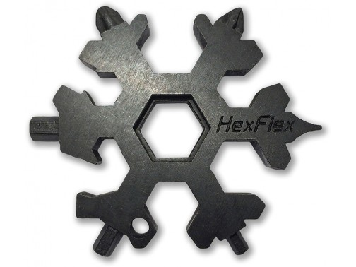 Брелок-мультитул HexFex Black Oxide Metric