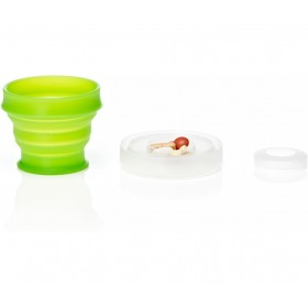 Складной стакан humangear GoCup Small, 118 мл (зеленый)