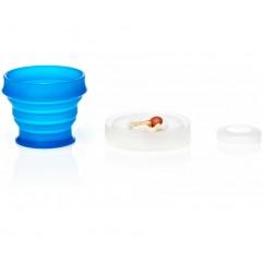 Складной стакан humangear GoCup Small, 118 мл (синий)
