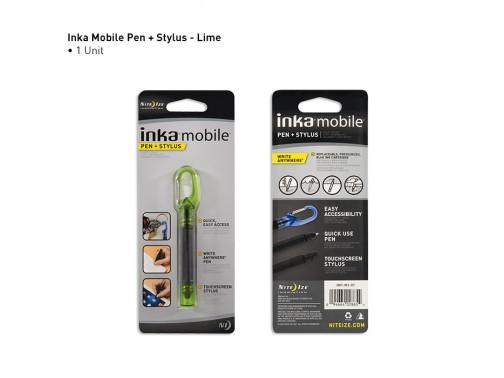 Всепогодная ручка со стилусом Inka Mobile Pen (зеленый)