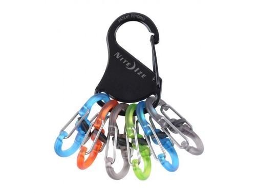 Ключная система Nite Ize KeyRack Microlock Poly