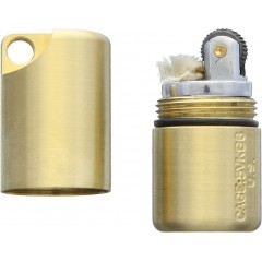 Зажигалка Maratac Brass Split Peanut Lighter Rev 2 (латунь)