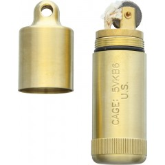 Зажигалка Maratac Brass Peanut Lighter XL (латунь)