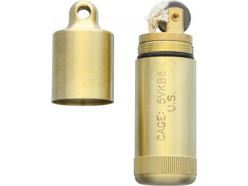 Зажигалка Maratac Brass Peanut Lighter XL (латунь)