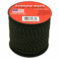 Шнур 1/16 Atwood Rope MFG, 30 м (лесной камуфляж)