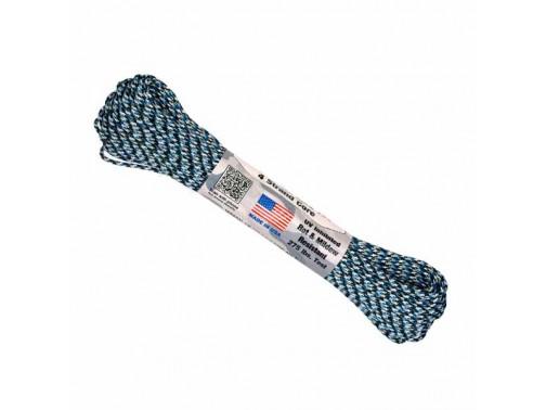 Тактический паракорд Atwood Rope MFG 275, 30 м (синий камуфляж)