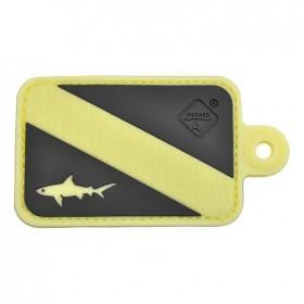 Нашивка-патч Hazard 4 Dive Shark (светящийся)