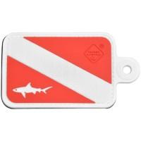 Нашивка-патч Hazard 4 Dive Shark (красный)