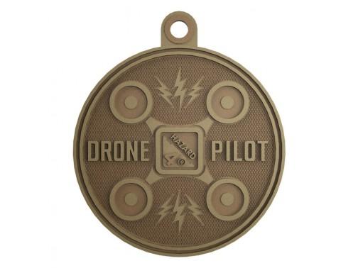 Нашивка-патч Hazard 4 Drone Pilot (койот)