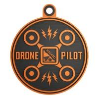 Нашивка-патч Hazard 4 Drone Pilot (оранжевый)