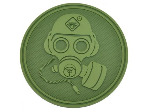 Нашивка-патч Hazard 4 Special Forces Gas Mask (зеленый)
