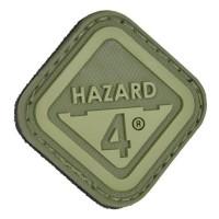 Нашивка-патч Hazard 4 Diamond Logo (зеленый)