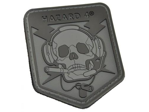 Нашивка-патч Hazard 4 Special Operator Skull (черный)